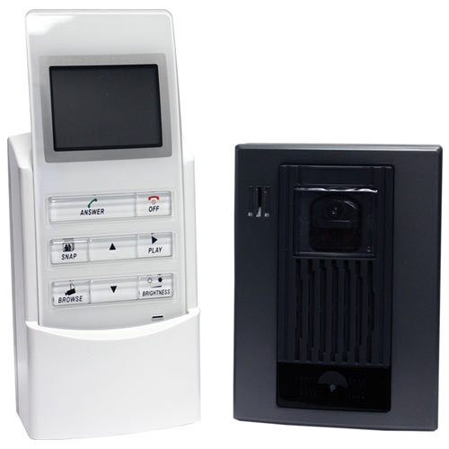 Wireless Intercom With Video Bap Security